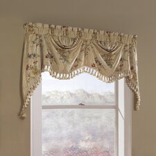 "Jewel Austrian 108"" Curtain Valance"