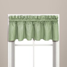 "Hamden Rod Pocket Tailored 57"" Curtain Valance"