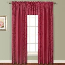 Addison Silk Rod Pocket Curtain Panel