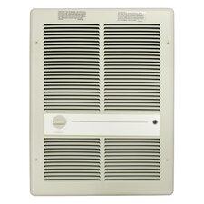 4,800 Watt Wall Insert Electric Fan Heater