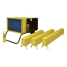 Portable Electric Convection Baseboard Heater with Thermostat