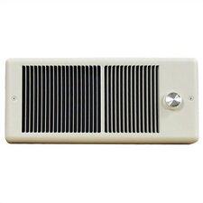 Low Profile 2000 Watt Wall Insert Electric Fan Heater
