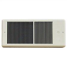 Low Profile 2,000 Watt Wall Insert Electric Fan Heater