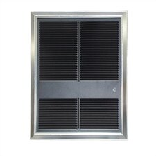Commercial Wall Insert Electric Fan Heater with Thermostat