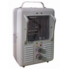 1,300 Watt Portable Electric Infrared Compact Heater with Thermostat