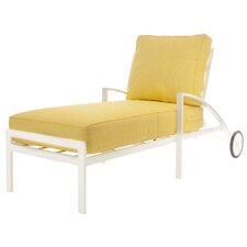 Capri Chaise Lounge with Cushions
