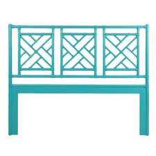 Chinese Chippendale Wicker Headboard