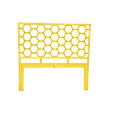 Honeycomb Wicker Headboard