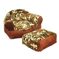 Camo Kids Club Chair