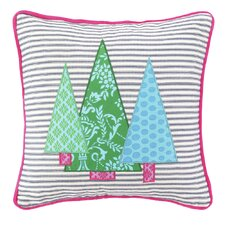 Holiday 100% Cotton Throw Pillow