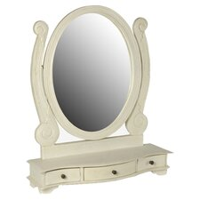 Ovaler Schminktisch-Spiegel