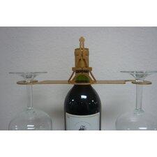 Laser Cut Eiffel Tower 2-Stem Bottle Topper