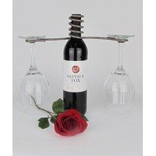 French Vineyard 1 Bottle Tabletop Wine Rack