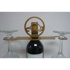 Laser Cut Cowboy Hat/Lasso 2-Stem Bottle Topper
