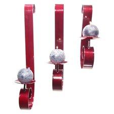 3 Piece Heavy Steel Sconce Set