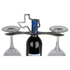"Laser Cut ""TEXAS"" 2-Stem Bottle Topper"