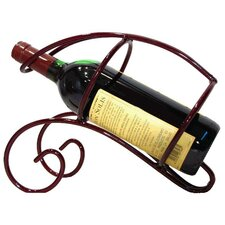 French Vineyard 1 Bottle Tabletop Wine Rack