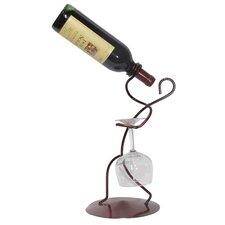 Borracho 1 Bottle Tabletop Wine Rack
