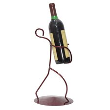 Borracho 1 Bottle Tabletop Wine Rack