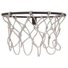 Hall of Fame Basketball Hoop Coat Rack