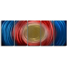 Tunnel For 5 Piece Graphic Art Plaque Set