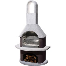 54cm Milano Masonry Charcoal Barbecue