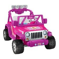 Barbie Wrangler Deluxe Jammin 12V Battery Powered Jeep