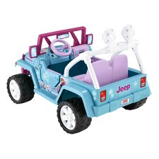 Disney Frozen Wrangler 12V Battery Powered Jeep
