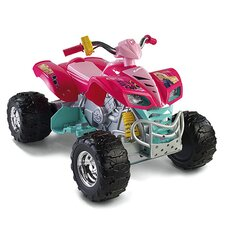 Power Wheels Barbie Kawasaki KFX 12V Battery Powered  ATV
