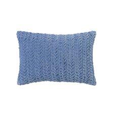Braided Velvet Lumbar Pillow