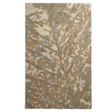 Out On A Limb Platinum Area Rug