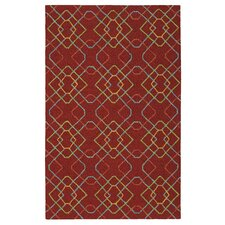 Mottle and Marl Brick Area Rug