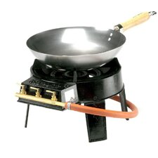 Original Wok 4 Piece Gas Burner Set