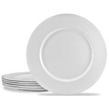 Calypso Basics Melamine Dinner Plate in White (Set of 6)