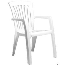 Diana Stacking Dining Arm Chair (Set of 2)