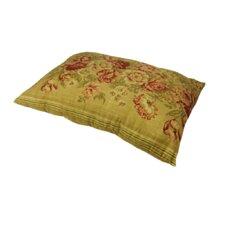 Oversized Vintage Floral Print Lumbar Pillow