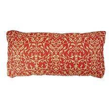 Luxurious Settee Bordeaux Indoor/Outdoor Lumbar Pillow