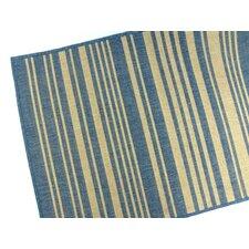 Barcode Blue Indoor/Outdoor Area Rug