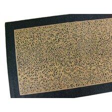 Leopard Black Indoor/Outdoor Area Rug