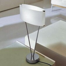 """Vittoria T1 24"""" H Table Lamp with Oval Shade"""