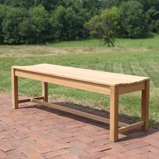 Bayhead Backless Teak Picnic Bench