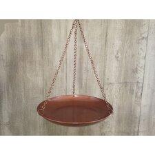 "14"" Hanging Birdbath"