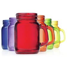 He Mason Jar Shooter Glass (Set of 6)