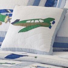 Fly Away Cotton Throw Pillow