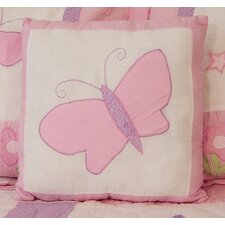 Princess Cotton Throw Pillow
