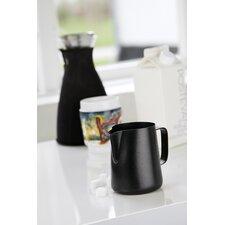 Milchkanne in Schwarz