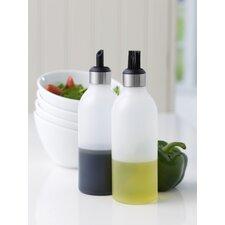 2-tlg. Essig- und Ölflaschen-Set Milano
