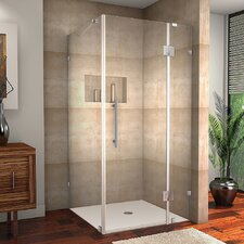 Avalux Completely Frameless Hinged Shower Enclosure