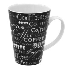 15 oz. Coffee Words Mug (Set of 4)