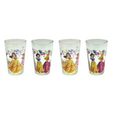 Disney 8 Piece 8 oz. New Princesses Juice Glass Set (Set of 8)